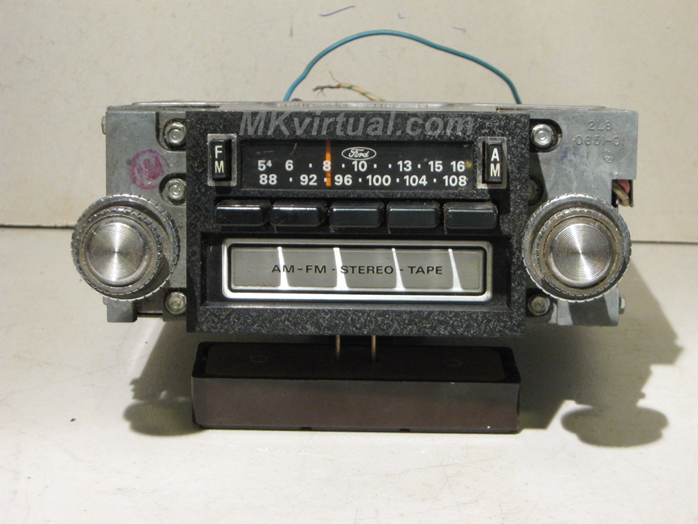 Ford Car Radio Model 7711 Amfm With 8 Trackrhmkvirtual: Am Track Radio At Gmaili.net